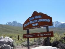 SNARL entrance sign